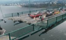 Разрушение моста в Днепре: новые подробности