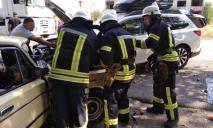 ДТП с 5 пострадавшими: спасатели доставали людей