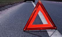 «ВАЗ» на полном ходу сбил пешехода: появилось видео момента аварии