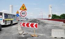 На Новом мосту устраняли опасность