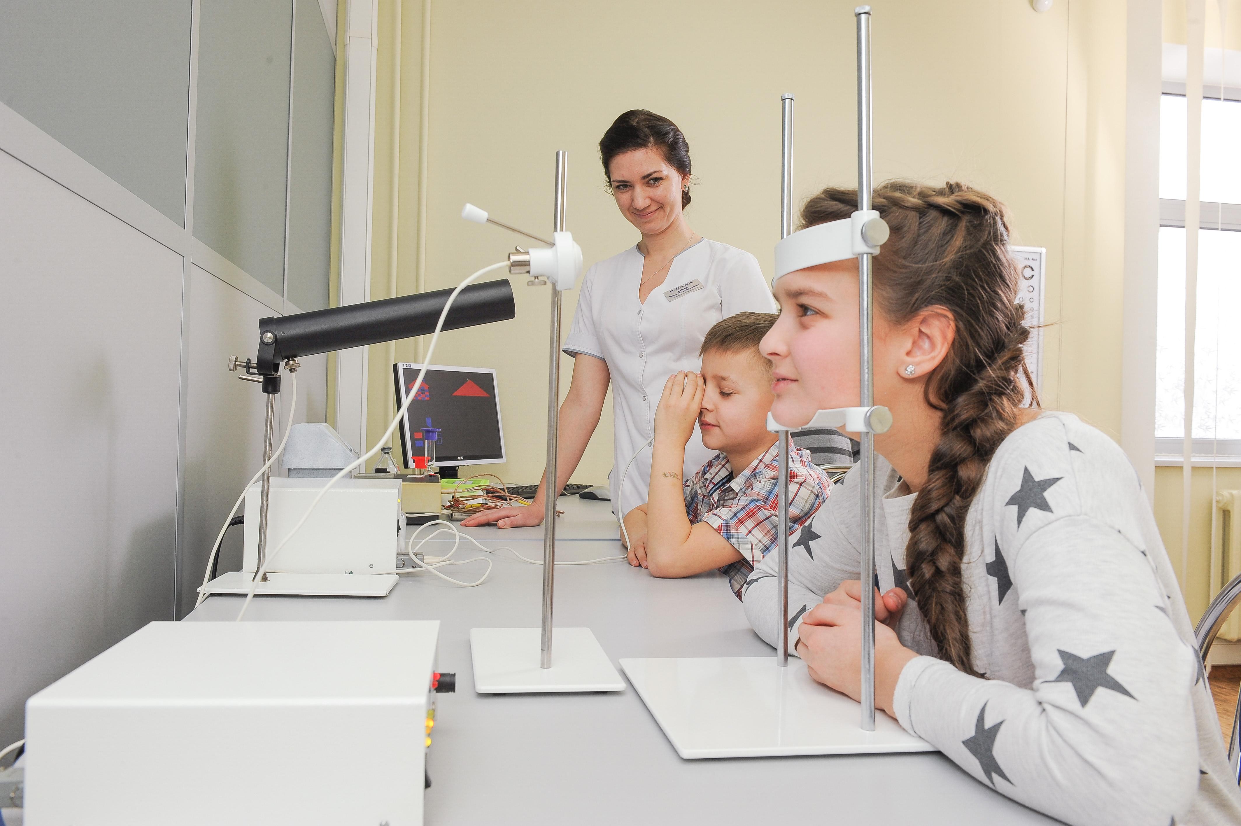Новости Днепра про Офтальмологический центр «Взгляд» – аппаратное лечение детей
