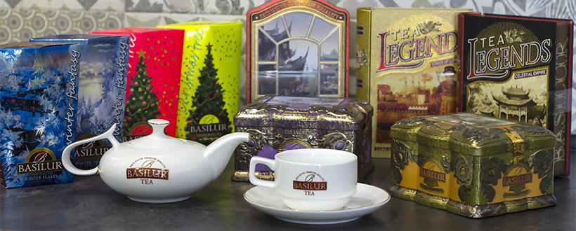 Новости Днепра про Спецпредложение на чай BASILUR