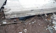 Трагедия: на мужчину упала железобетонная плита