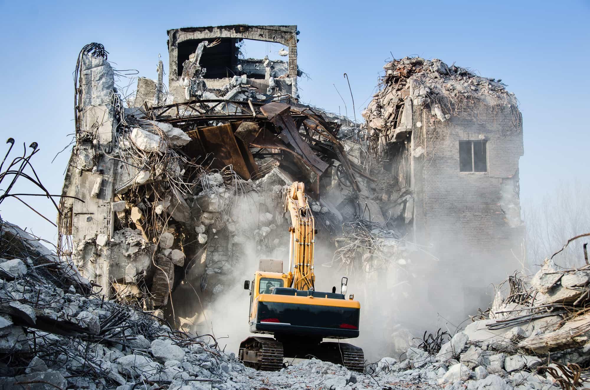 Новости Днепра про «Бик Каскад Плюс» предлагает профессиональные услуги по сносу зданий и конструкций