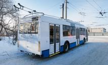 В Днепре троллейбус стал «разваливаться» на ходу
