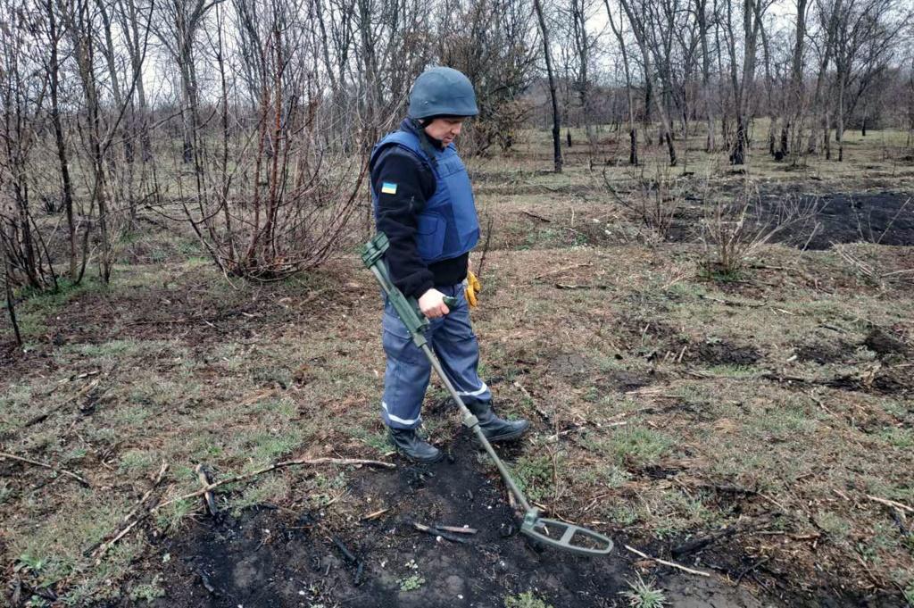 Новости Днепра про В области взрывались мины