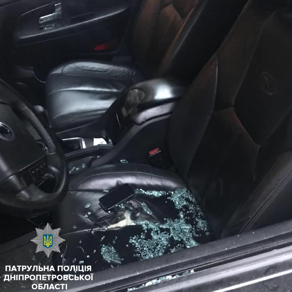 Новости Днепра про В Днепре средь бела дня грабят автомобили