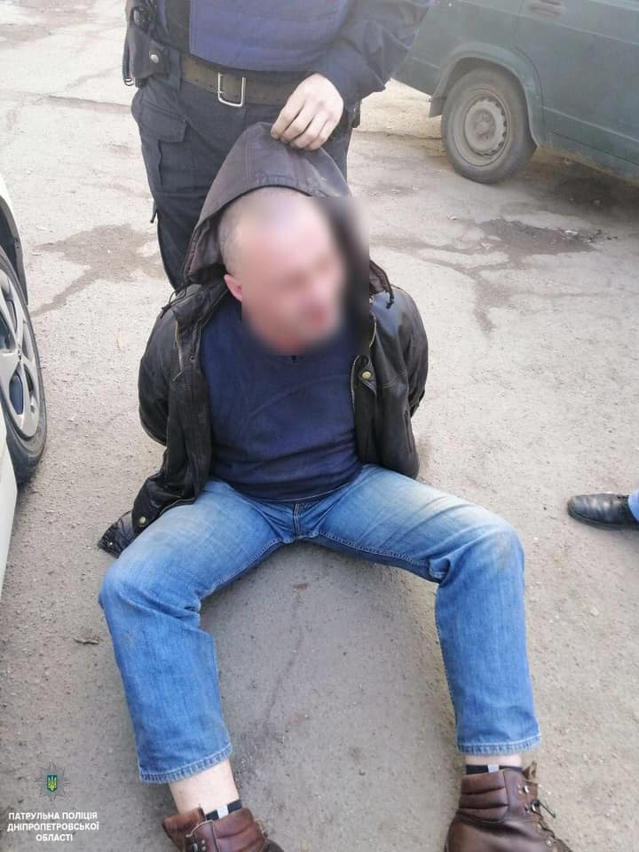 Новости Днепра про Дебош, крики, полиция и разбитые стекла: задержание в Днепре