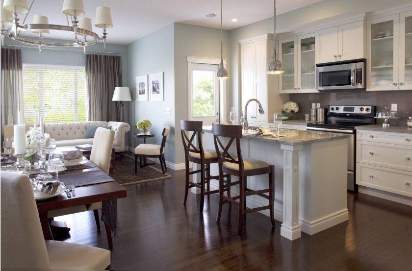 Новости Днепра про Кухня, совмещенная с гостиной: плюсы и минусы (рекомендации студии ARTCLUB design)