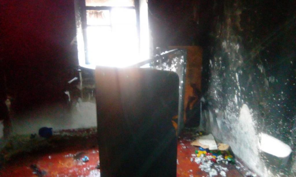Новости Днепра про В пожаре пострадал двухлетний ребенок