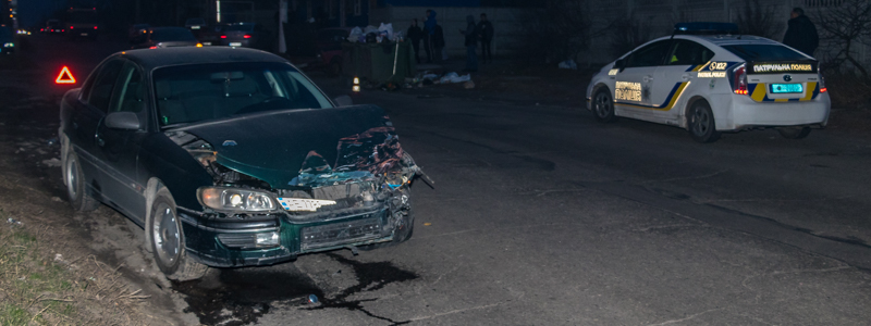Новости Днепра про Предполагаемый виновник ДТП пытался сбежать из «скорой» с травмами