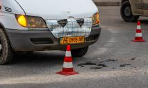 В Днепре маршрутка попала в ДТП: пострадал пассажир