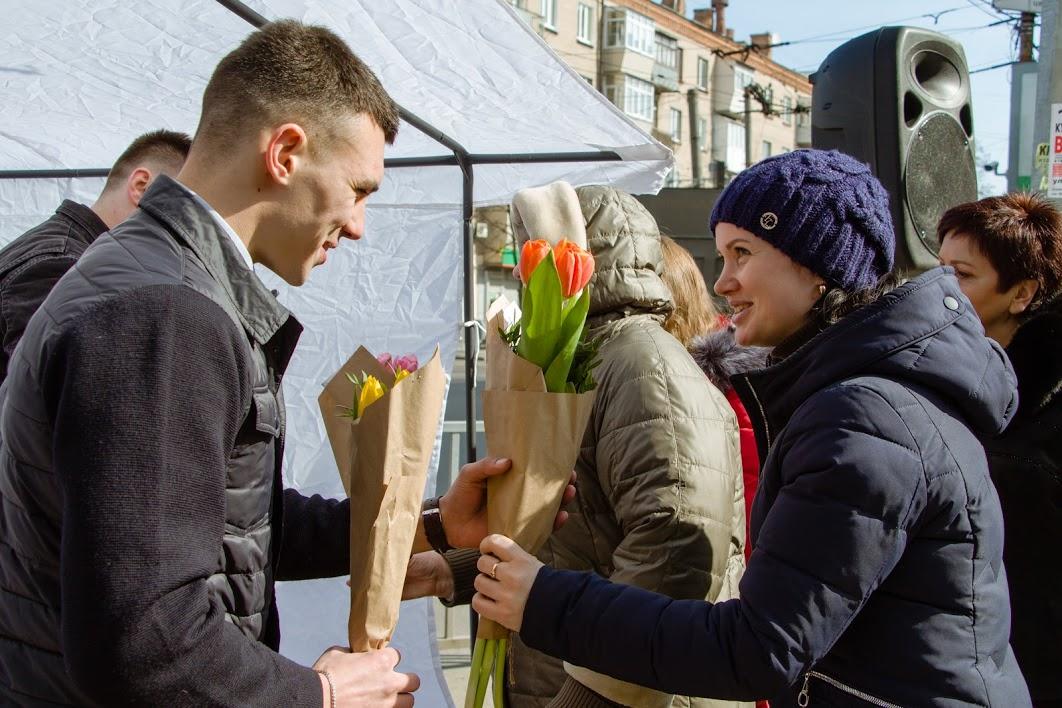 8 марта поздравление мэра