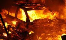 В Днепре сгорели сразу 2 автомобиля