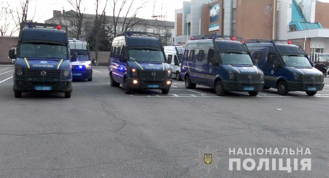 Новости Днепра про «Стена» полицейских и недовольная толпа в Днепре: подробности