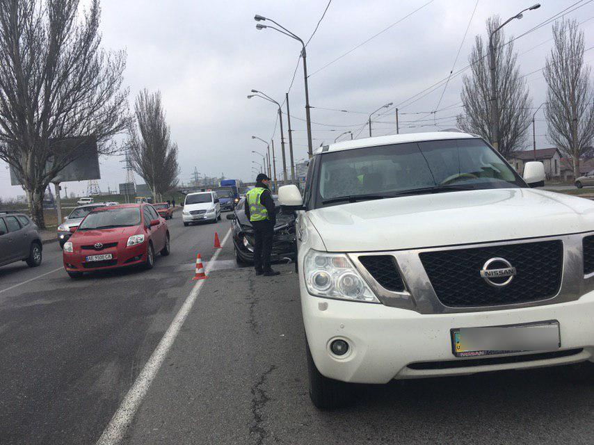 Новости Днепра про В ДТП в Днепре сильно пострадал мужчина