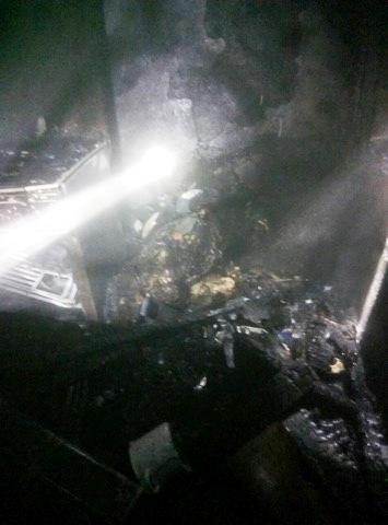 Новости Днепра про Огонь унес жизни трех человек