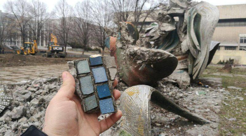 Новости Днепра про «Это вандализм»: горсовет высказался о разрушении популярной скульптуры