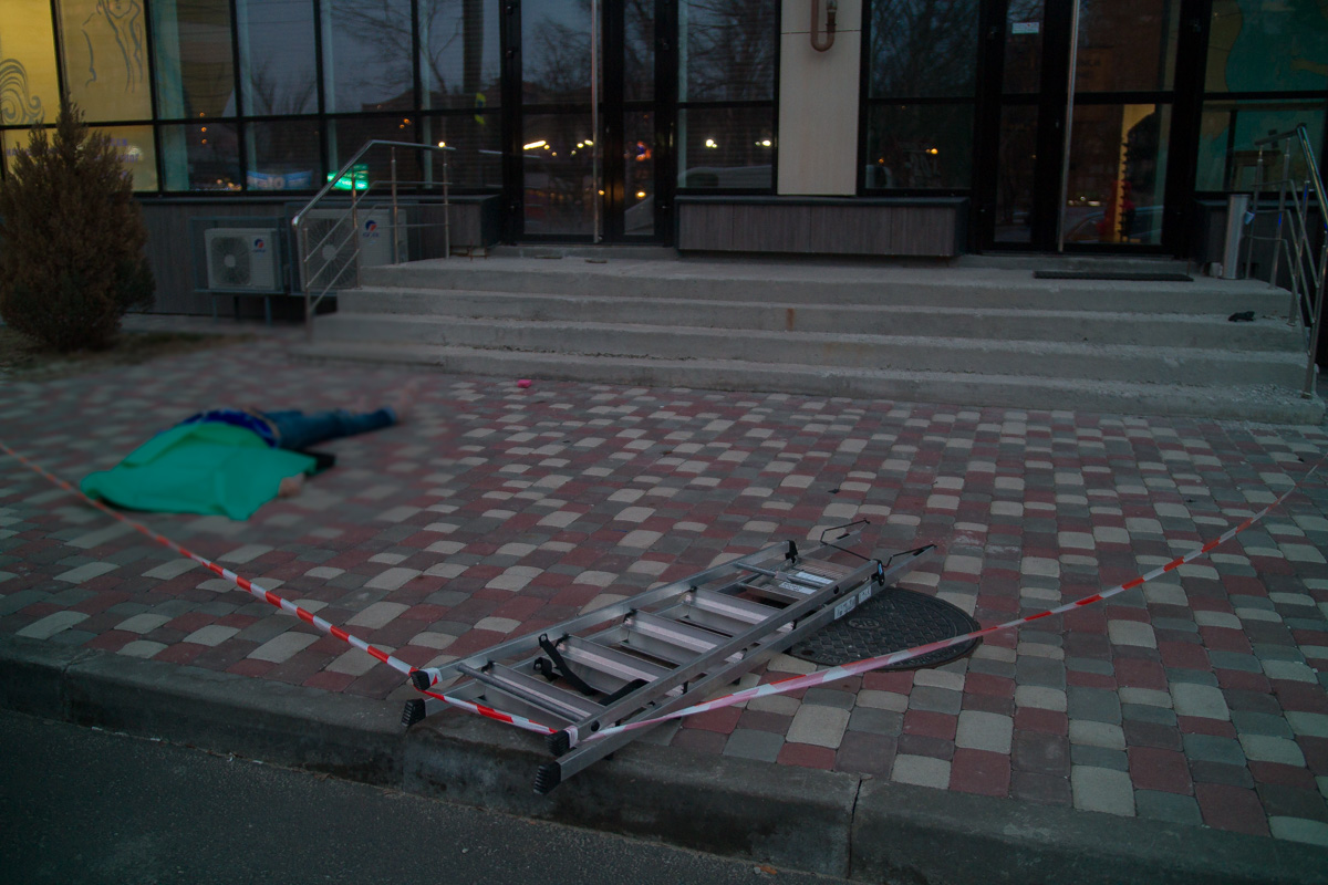 Новости Днепра про В Днепре насмерть разбилась женщина