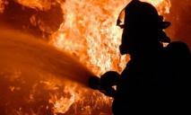 Срочно: масштабный пожар на левом берегу Днепра