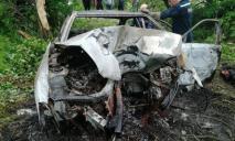 Смертельное ДТП: сгорело авто, двое погибших