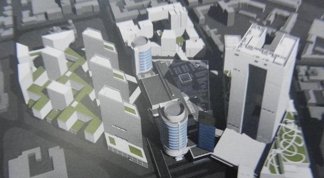 В ТРК «Мост-сити» хотят пристроить еще 1 башню. Новости Днепра