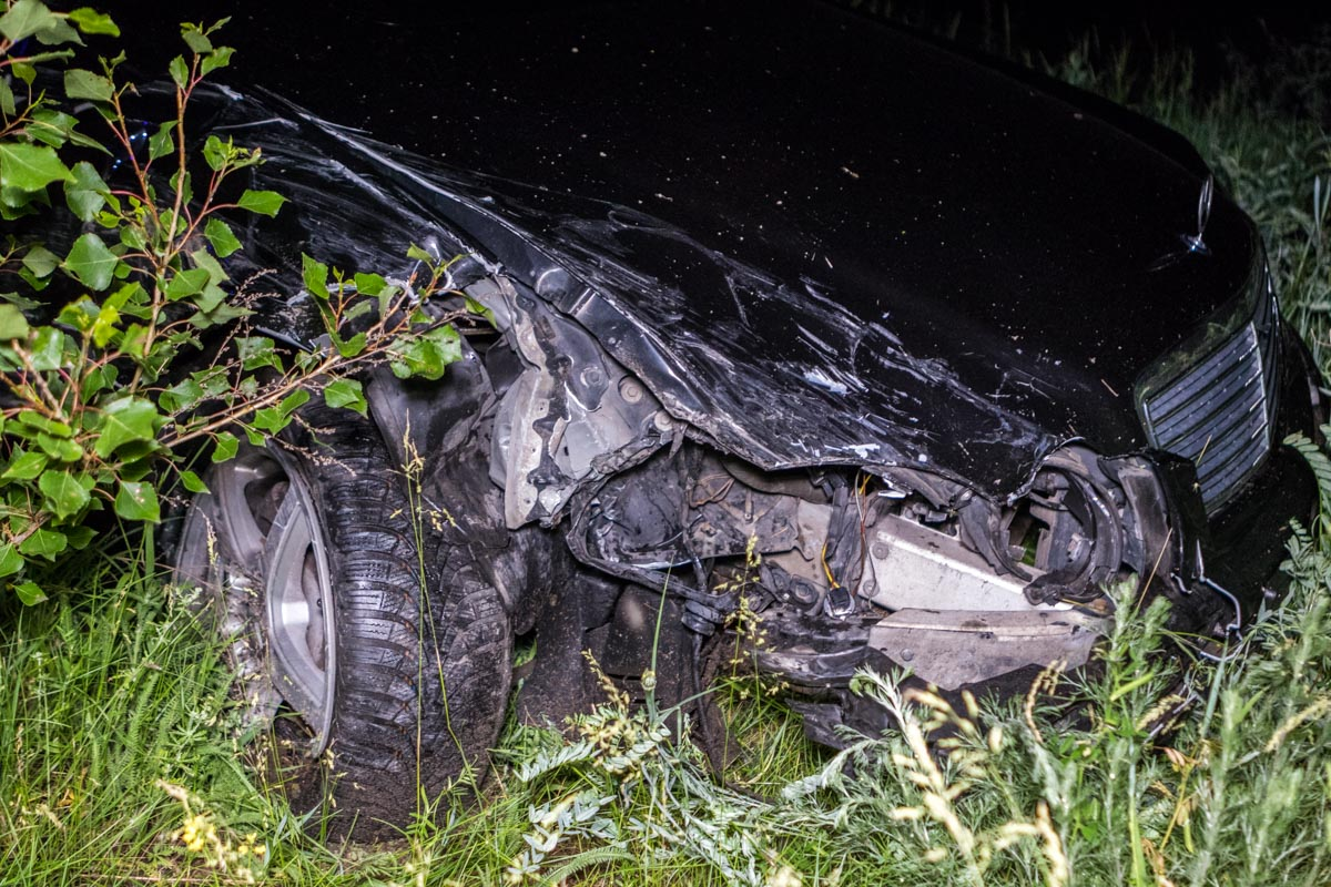 «Встреча немцев»: в Днепре разбились BMW и Mersedes. Новости Днепра