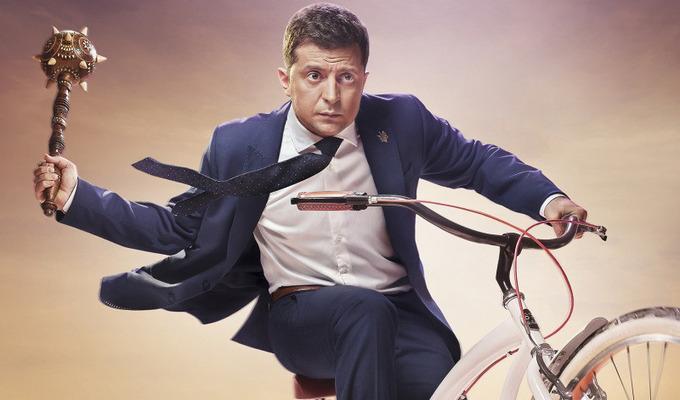 В РФ купили права на сериал с Владимиром Зеленским. Новости Украины