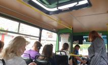 Жители Днепра задыхаются в маршрутках