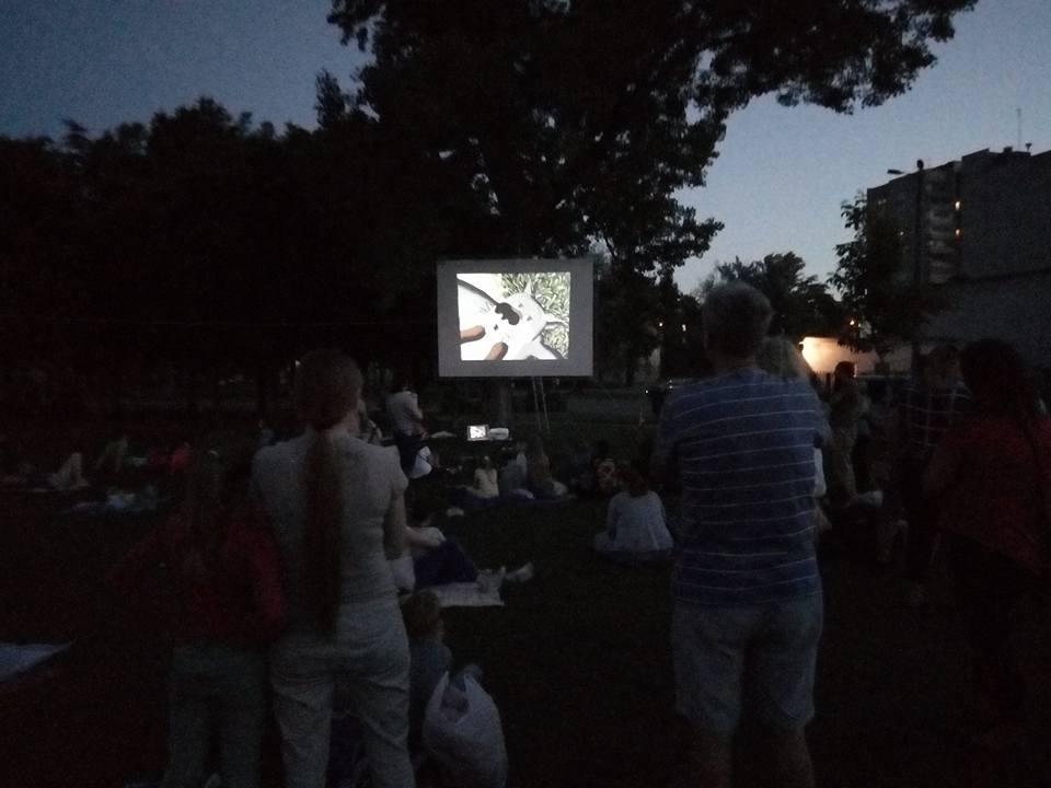 В Днепре появился новый кинотеатр под открытым небом для всех желающих. Новости Днепра