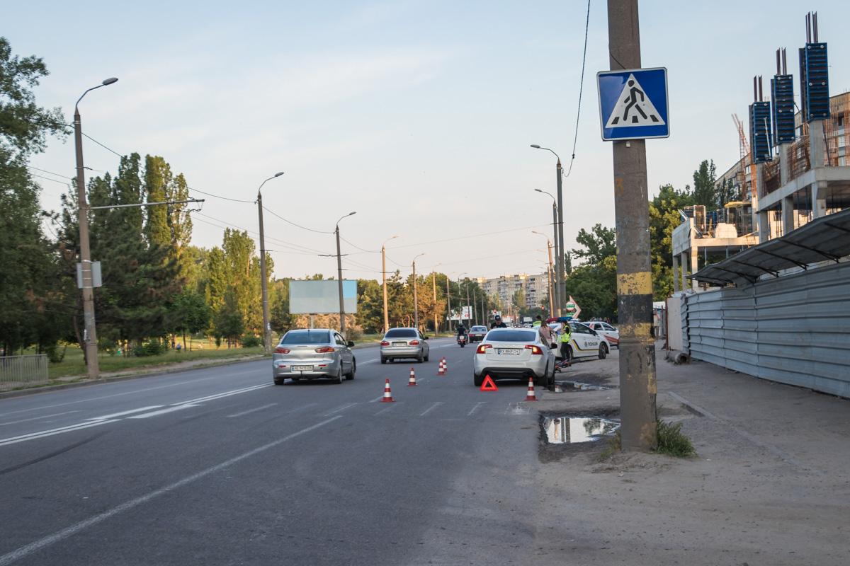 На переходе был сбил 29-летний мужчина. Новости Днепра