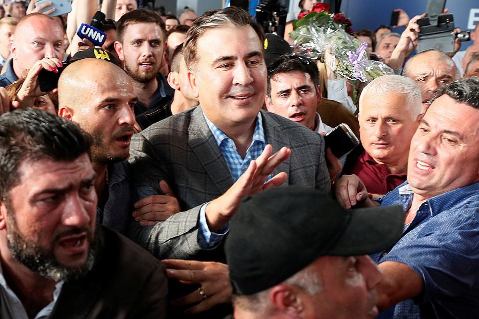 Саакашвили прилетел в Украину и рассказал о причинах возвращения. Новости Украины
