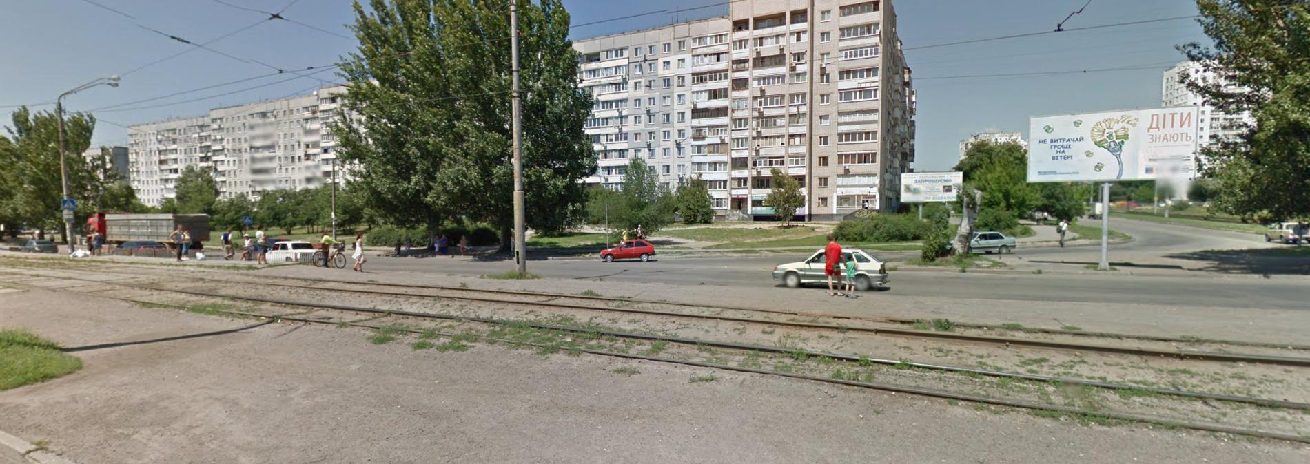 перекресток Донецкое шоссе и пр. Мира