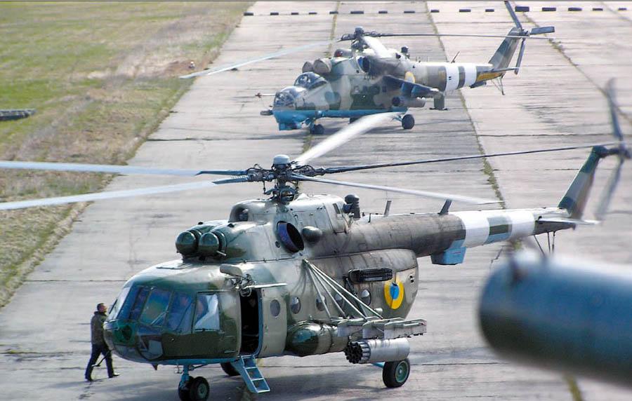 Упал военный вертолет: 4 погибших. Новости Украины