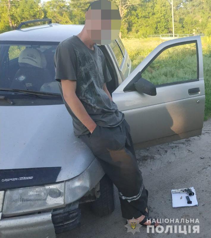 Мужчина ездил пьяный за рулем и обстреливал население. Новости Днепра