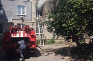 В результате пожара убытки понесли 8 квартир. Новости Днепропетровщины
