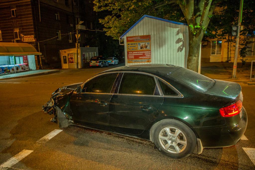 На улице Рабочей произошло дорожно-транспортное происшествие. Новости Днепра.