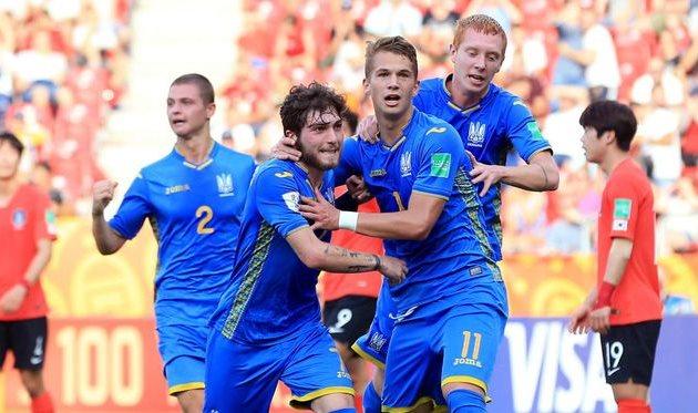 Юниорская сборная Украины выиграла Чемпионат мира по футболу. Новости Украины
