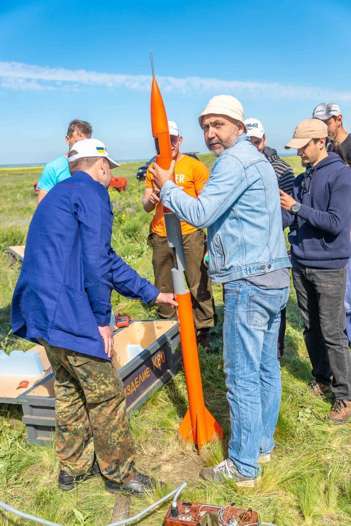 Новости Днепра про Студенты Днепра первыми в Украине создали и испытали ракету на твердом топливе