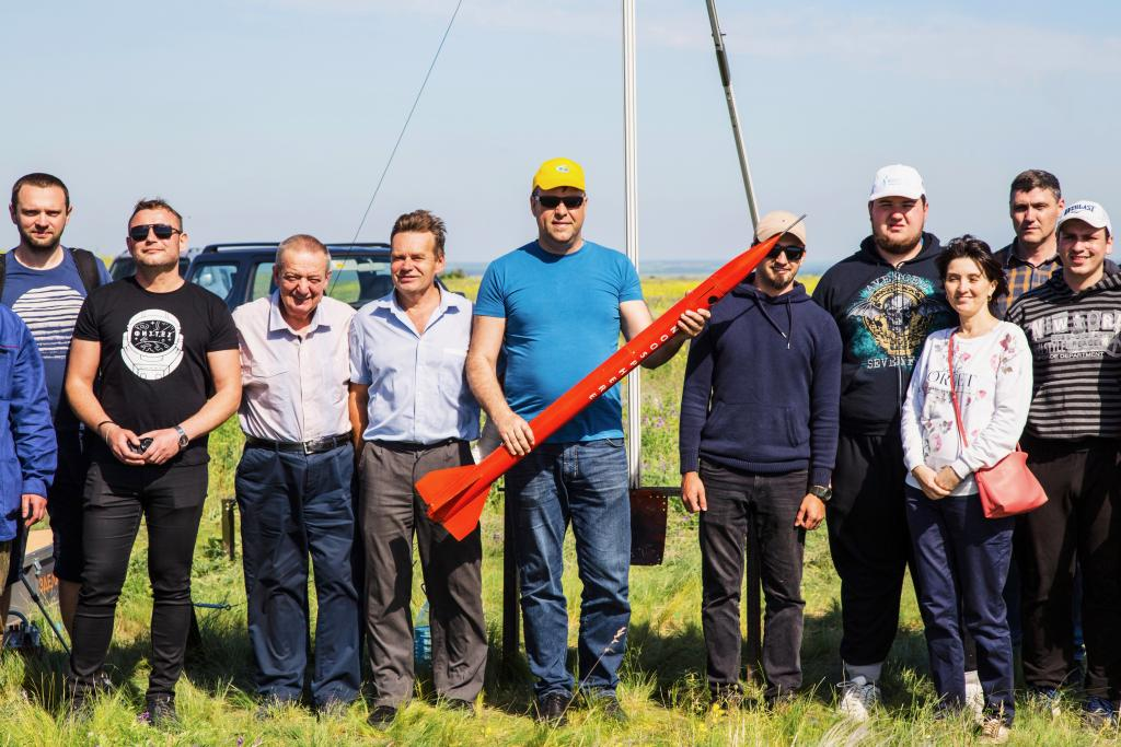 Студенты Днепра первыми в Украине создали и испытали ракету на твердом топливе. Новости Днепра