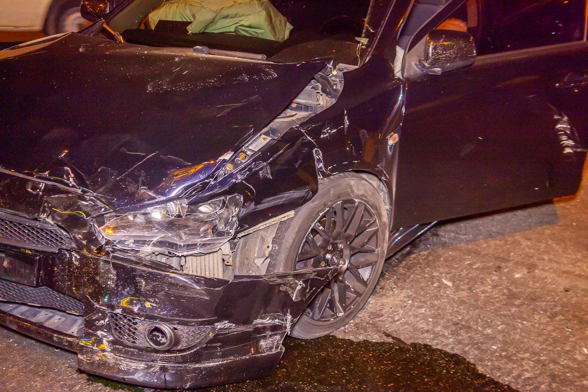 В ДТП пострадал пассажир автомобиля. Новости Днепра