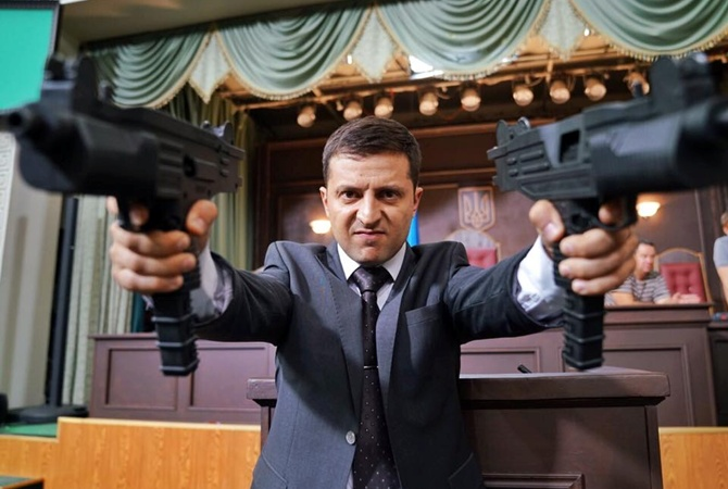 Зеленский рассказал, почему его действия отличаются от его героя из сериала «Слуга народа». Новости Украины