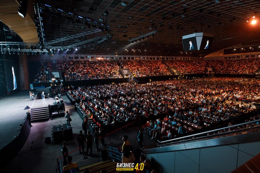 1 июня во Дворце Спорта прошёл самый большой бизнес ивент страны Бизнес Концентрат 4.0.