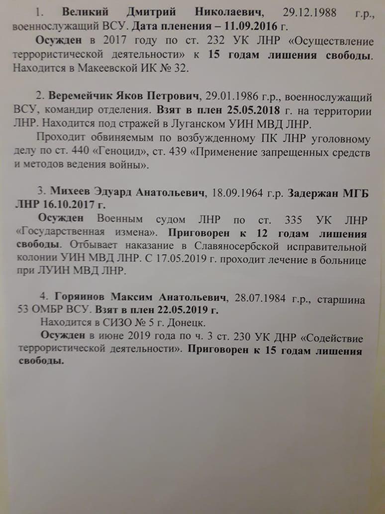 Медведчук договорился с представителями ОРДЛО об освобождении четырех украинцев. Новости Украины