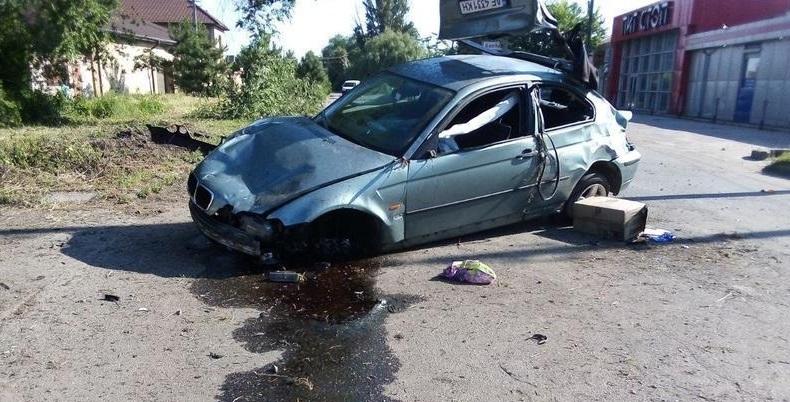 Водитель авто погиб в ДТП, пассажир и пешеход пострадали. Новости Днепра