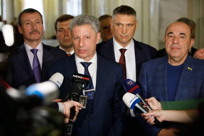Фракция Бойко и Рабиновича станет второй по величине и первой в оппозиции