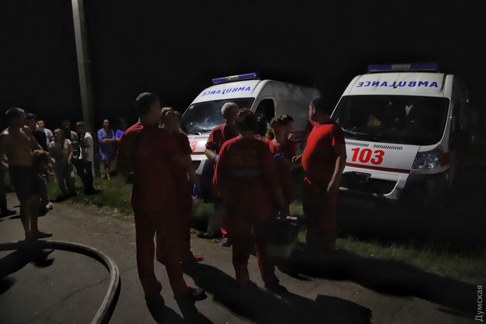 6 человек погибли на пожаре в Одесской области. Новости Украины