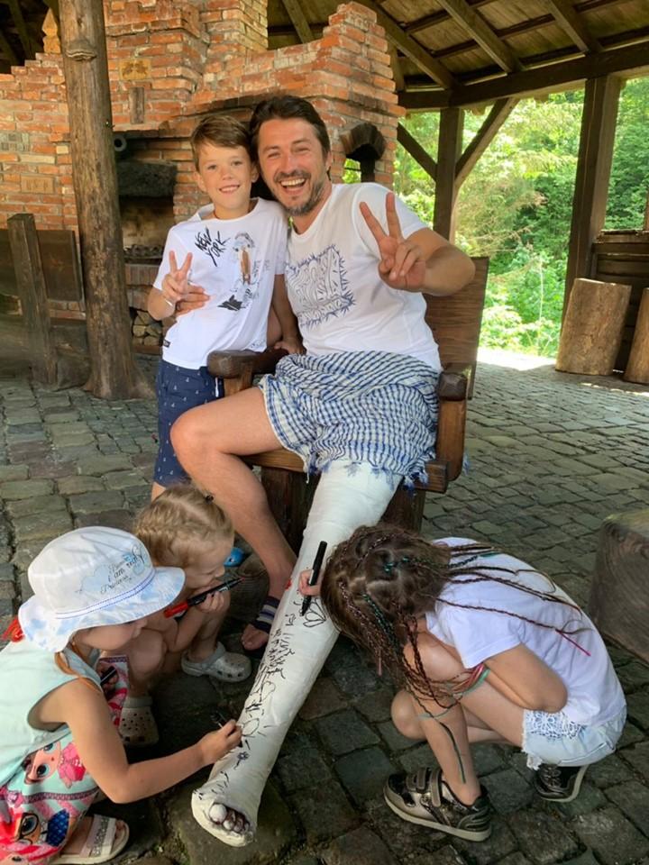 Сергей Притула получил серьезную травму ноги: что известно. Новости Украины