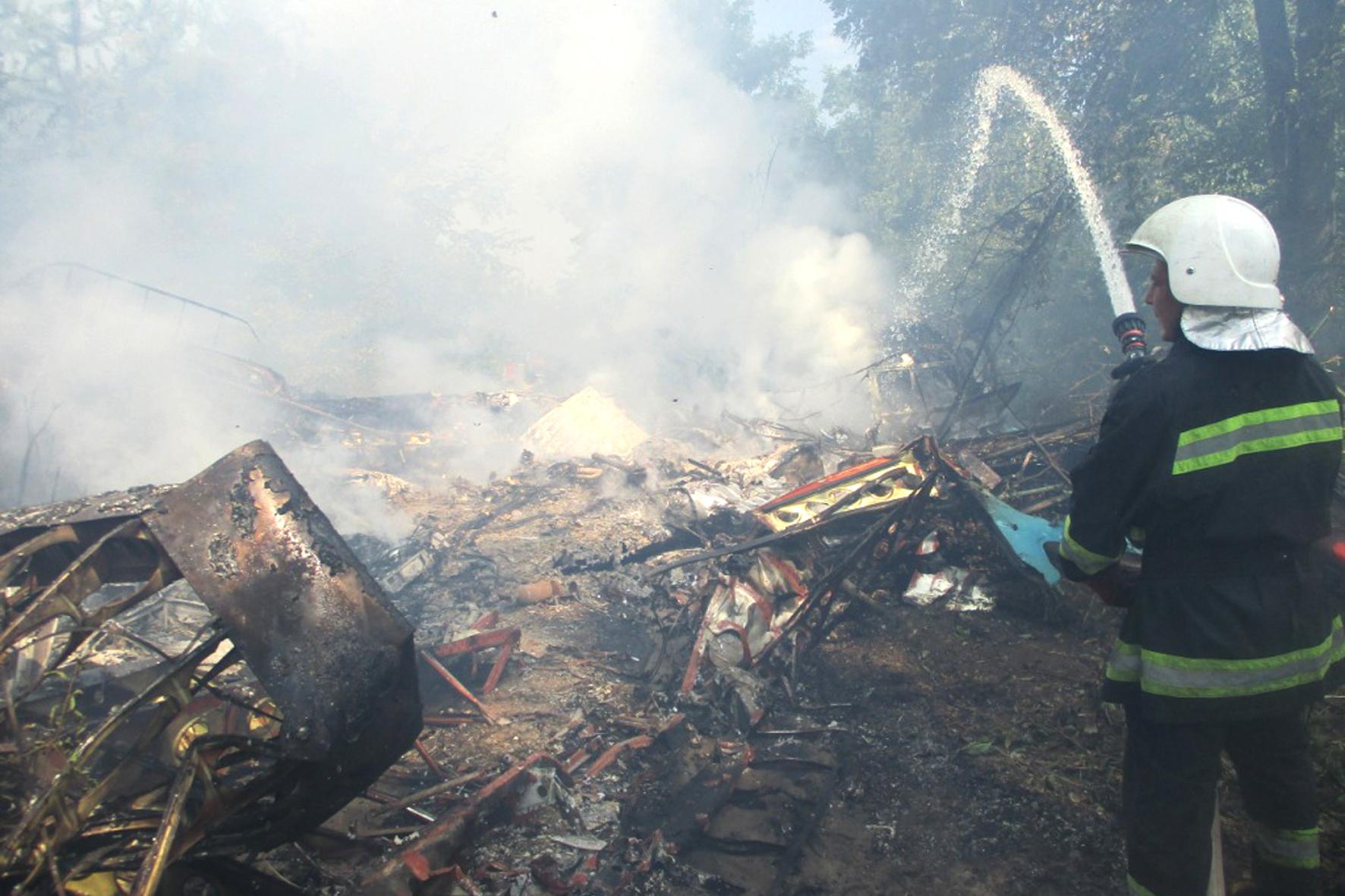 Разбился самолет АН-2, есть пострадавшие. Новости Украины