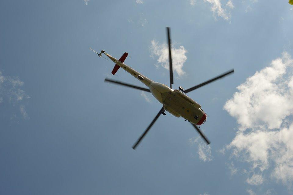 С радаров пропал вертолет: учения спасателей. Новости Днепра